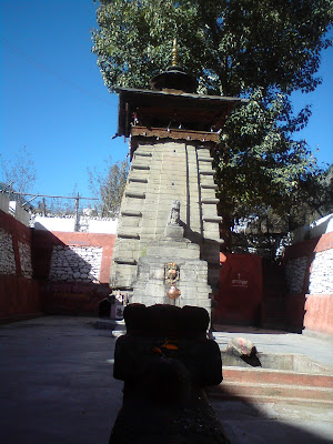 The Kalp Kedar Temple at Harsil - Enroute to Gangotri