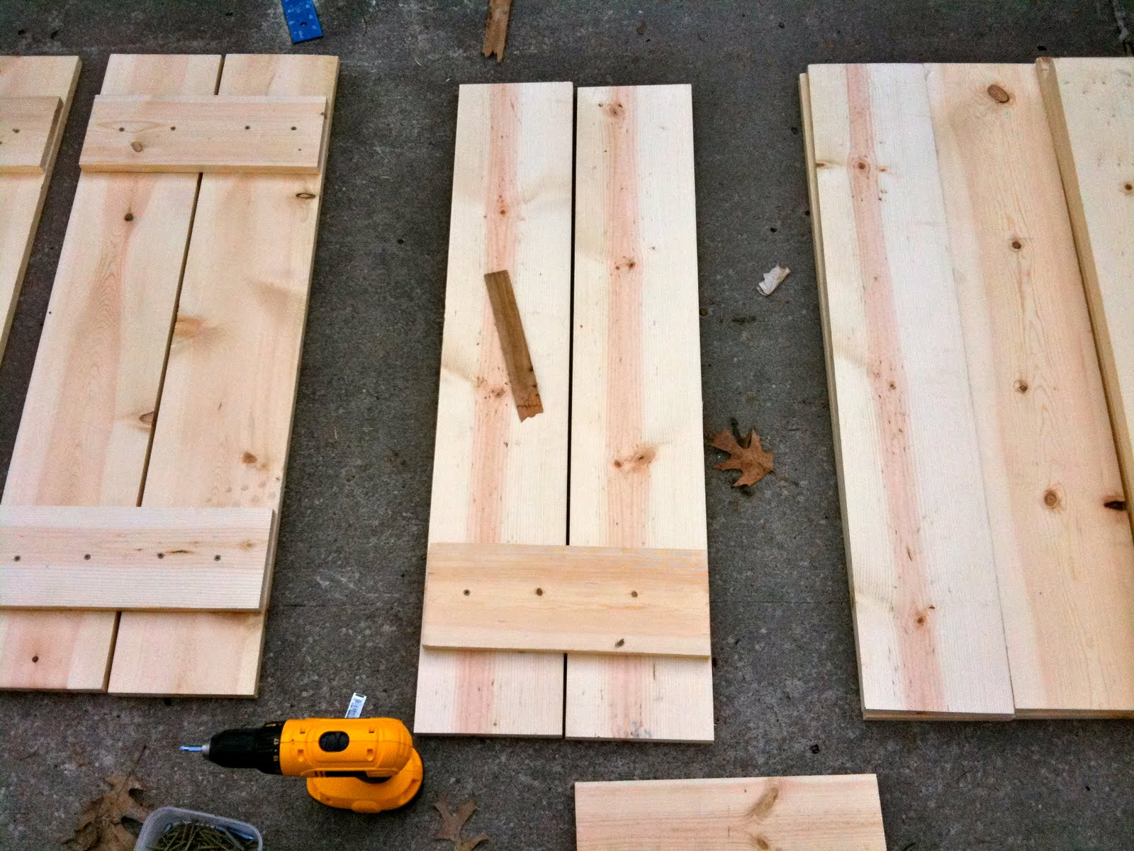 Diy Exterior Window Shutters Best Wood To Make Outdoor Shutters How To Build Shutters Diy