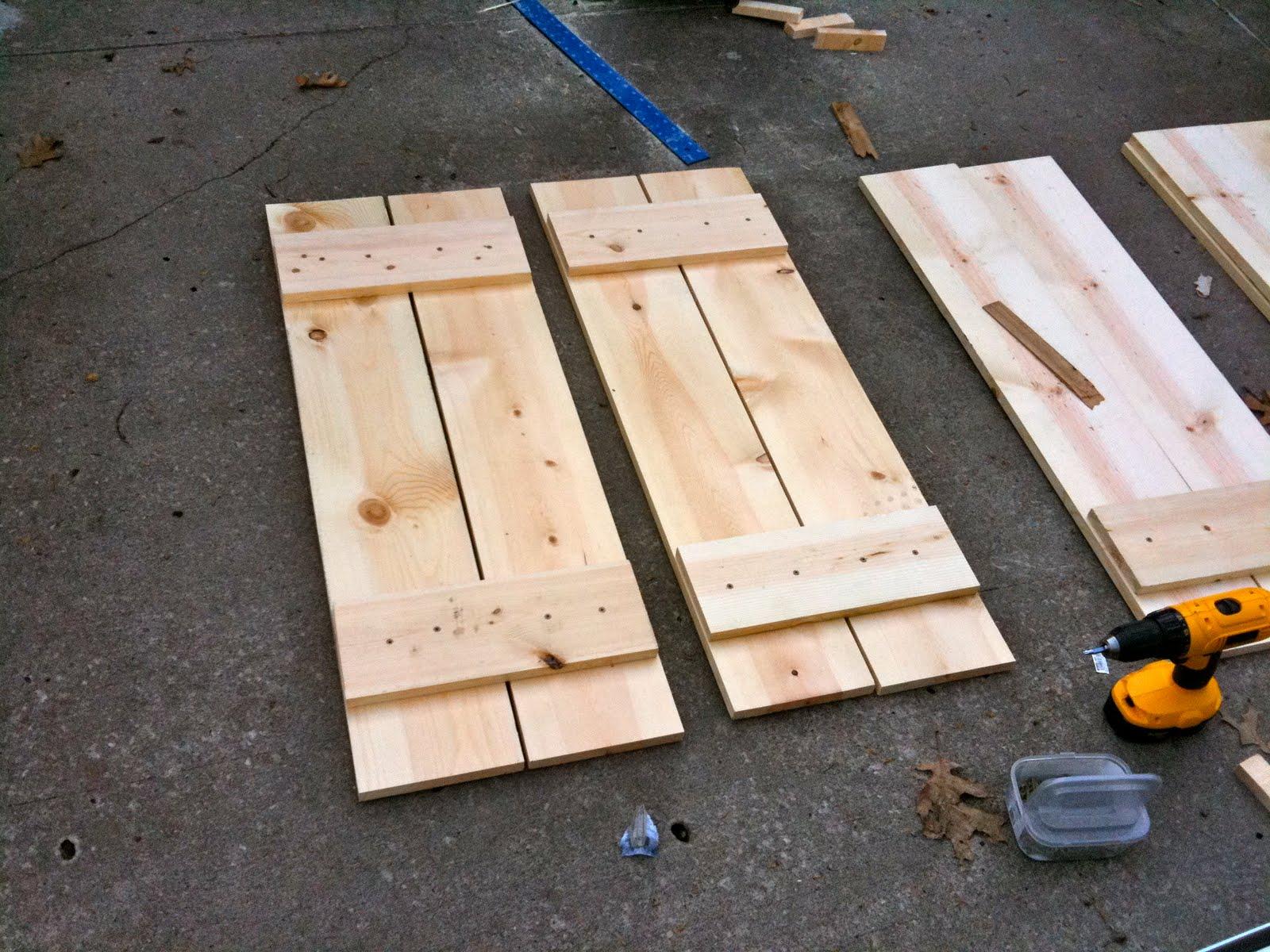 Jenny Steffens Hobick Home Diy Wood Shutters