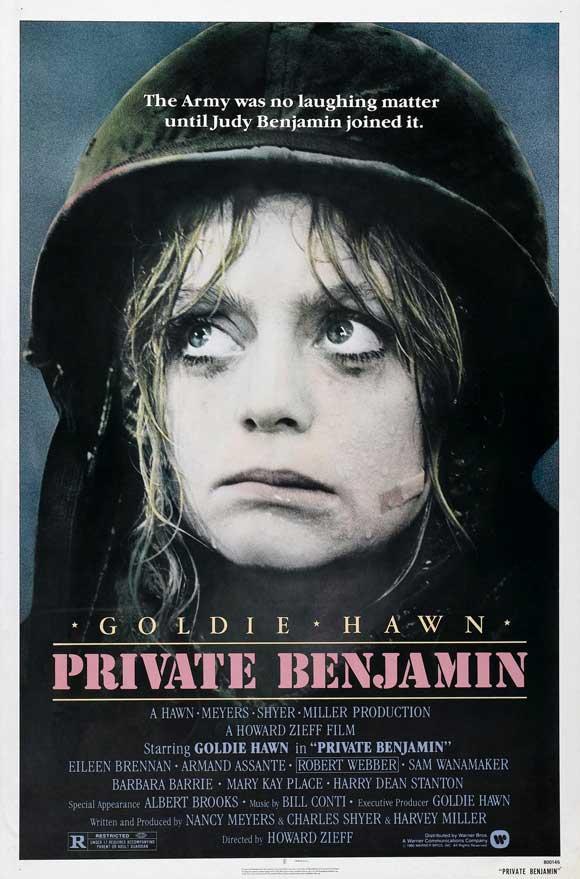 Resultado de imagem para A Recruta Benjamin [1980]