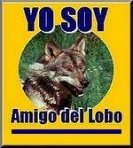 Únete y ayuda a desmitificar la imagen del Lobo colocando este logotipo en tu web o blog