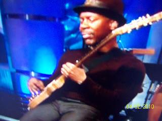 Mackey: Kevin Eubanks' bulge (Tonight Show band leader)