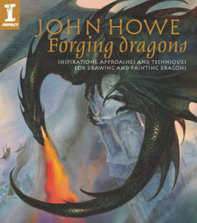 Forging Dragons John Howe Book Cover