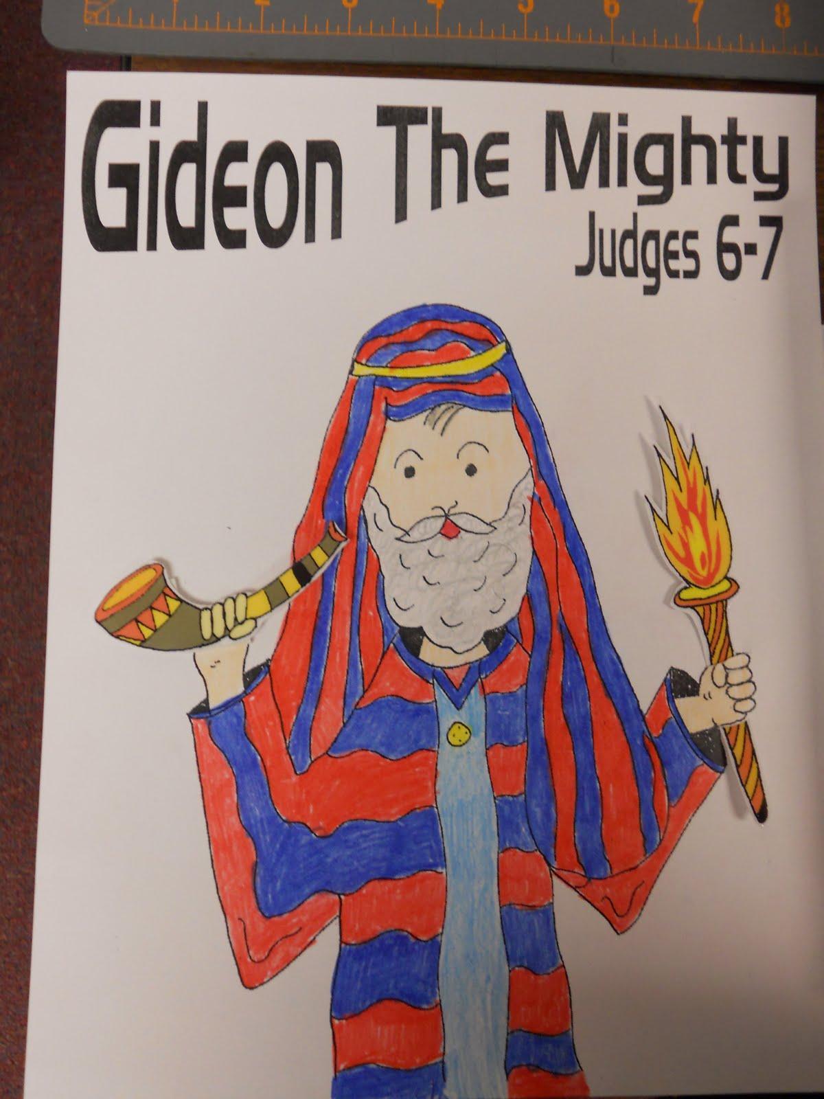 Hands On Bible Teacher Gideon A Judge Of Israel