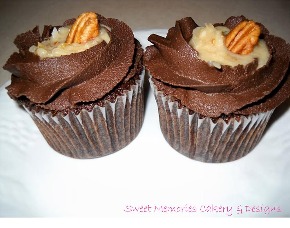 Crystal Keefer Designs German Chocolate Cupcakes Amp Red