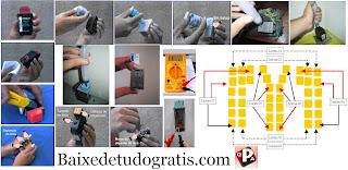 Curso Completo de Recarga de Cartuchos para Impressoras Jato de Tinta