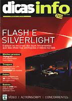 Revista Dicas Info - Flash e Silverlight - Julho de 2009