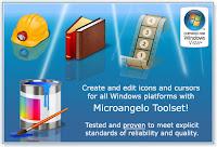 MicroAngelo ToolSet Vs. 6 - Criador de Icones e Cursores - Portable