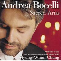 CD Andrea Bocelli Sacred Arias