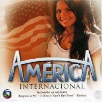 CD América - Trilha Sonora Internacional