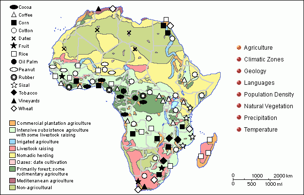 African Countries And Their Natural Resources