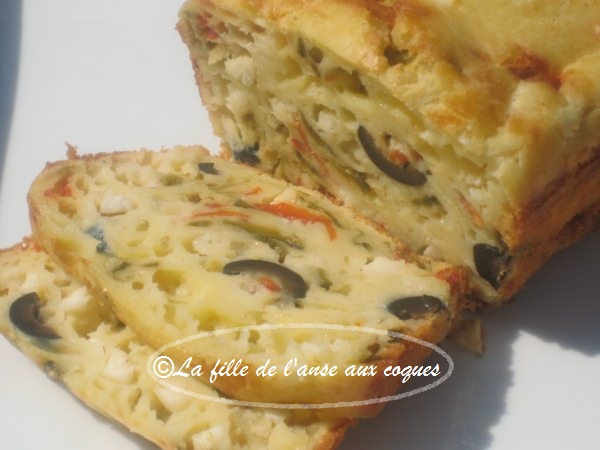 Cake Poivrons Sophie Dudemaine