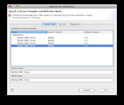OBSCURED CLARITY: Setup MySQL Development in Eclipse