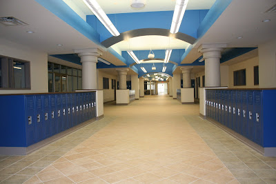 Payne Amp Associates New Johnnie Carr Middle School Interior