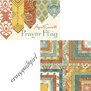 Moda PRAYER FLAG Fabric by April Cornell