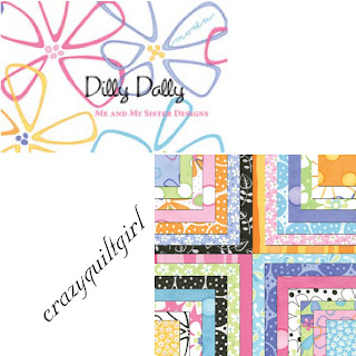 Moda DILLY DALLY Fabric by Me & My Sister Design