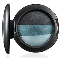 MAC In the Groove Mineralize Eyeshadow Duo BLUE MY MIND