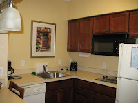 Kitchen in Residence Inn