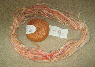 interesting handspun fiber