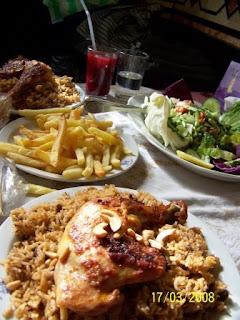 Almuerzo Sirio