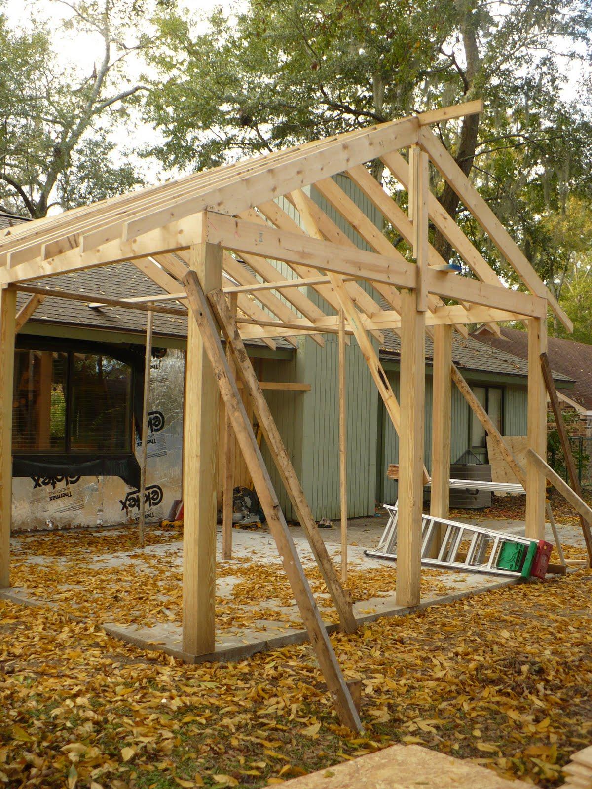 Framing A 10x10 Room: The Homespun Heart: Porch