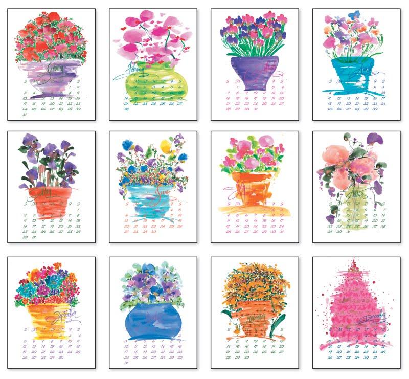 a whimsical garden darlene flood calendars