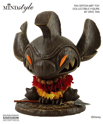MINDstyle x Disney Tiki Stitch Art Toy Collectible Vinyl Figure by Eric Tan