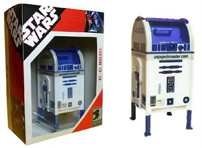 The 6.3 Inches Star Wars R2-D2 Mailbox Coin Bank