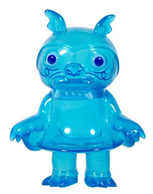 Super7 - Steven the Bat Crystal Clear Blue Vinyl Figure by Bwana Spoons