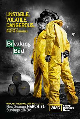 Breaking Bad Season 3 One Sheet Television Poster