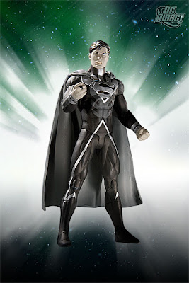 DC Direct Blackest Night Series 7 - Black Lantern Superman Action Figure