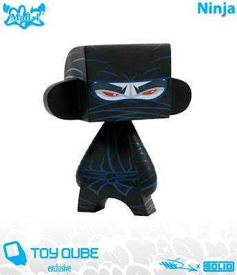 Toy Qube Exclusive Ninja MAD*L by MAD