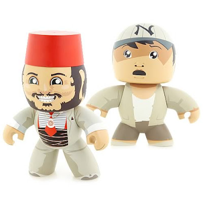 Indiana Jones Mighty Muggs - Sallah and Short Round Entertainment Earth Exclusive Mighty Muggs