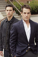 Heroes - Milo Ventimiglia as Future Peter Petrelli and Adrian Pasdar as Nathan Petrelli
