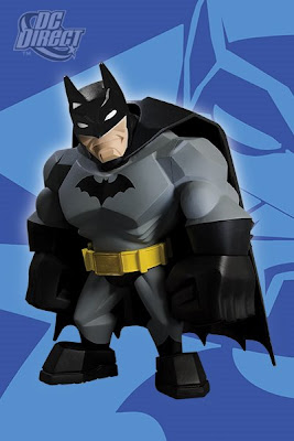 DC Direct Uni-Formz - Modern Batman Designer Vinyl Figure