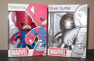 Marvel Legends Mighty Muggs Wave 4 - Galactus and Silver Surfer Mighty Muggs in Package
