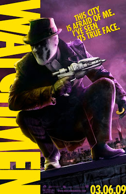 Watchmen Character Movie Posters - Jackie Earle Haley as Rorschach