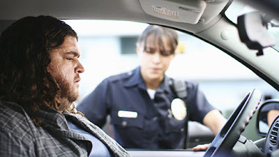 Lost - Jorge Garcia as Hurley and Michelle Rodriguez as Ana Lucia