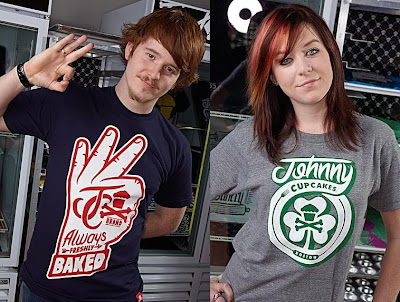 Johnny Cupcakes - A-OK Hand and Clover '09 T-Shirts