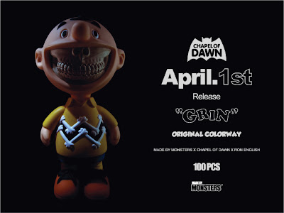 Chapel of Dawn x Made by Monsters x Ron English Original Colorway Grin Designer Vinyl Figure