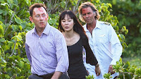 Lost - Namaste - Jeff Fahey as Frank Lapidus, Michael Emerson as Benjamin Linus and Yunjin Kim as Sun Kwon