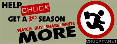 The Save Chuck Campaign - Watch/Buy/Share/Write