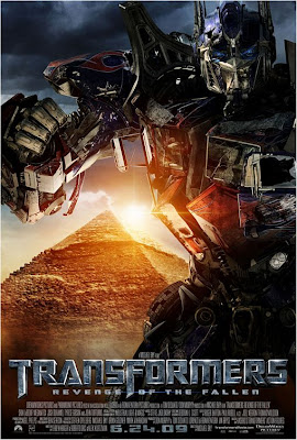 Transformers: Revenge of the Fallen - Optimus Prime Character Movie Poster