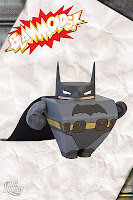 DC Comics Blammoids! Series 1 Vinyl Figures - Batman Blammoid