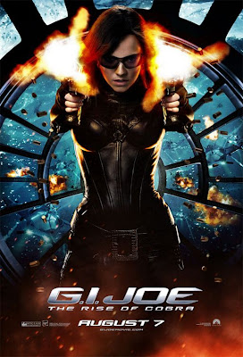 G.I. Joe: Rise of Cobra Character Movie Posters Set 3 - Sienna Miller as The Baroness