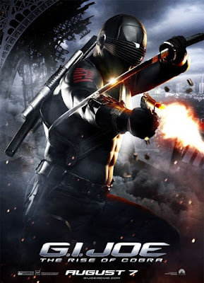 G.I. Joe: Rise of Cobra Character Movie Posters Set 3 - Ray Park as Snake Eyes