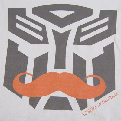SLAPt - Transformers Robots In Disguise Logo T-Shirt Artwork Close-Up