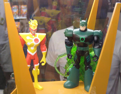 Batman: The Brave and The Bold Action Figures - Firestorm and Green Lantern Batman