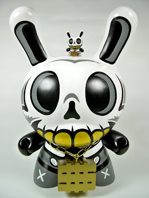 Custom Hand Painted Modern Hero 20 Inch Dunny by MAD