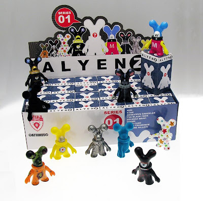 Alyenz Blind Box Mini Figure Series by Buffalo Toyz